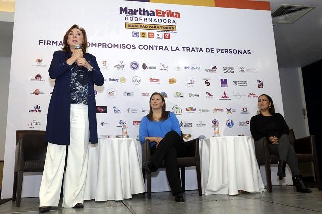 Carrancá y Flota frenaron lucha contra trata de personas, acusan