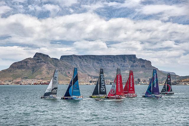 La Volvo Ocean Race. De Ciudad del Cabo a Melbourne, Australia