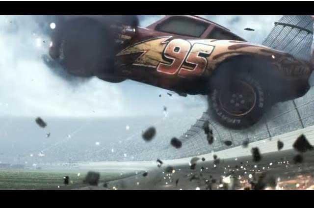 Presenta Disney adelanto de Cars 3 con veterano Rayo McQueen