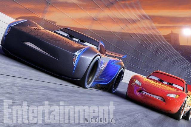 Difunden nuevo adelanto, nuevos personajes y voces de Cars 3