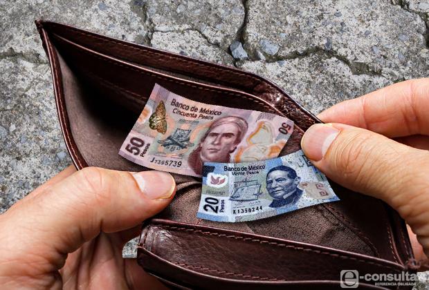 Propone Observatorio aumento de 30 % al salario mínimo general