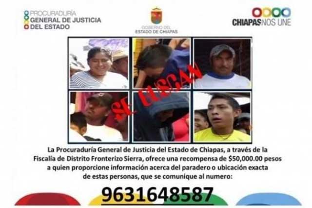 Es ilegal el cartel que ofrece recompensa por los que raparon a maestros