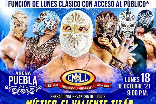 Cartelera Arena Puebla: lunes 18 de octubre de 2021