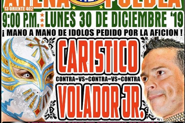 Con espectacular mano a mano, Arena Puebla presenta su último evento del año