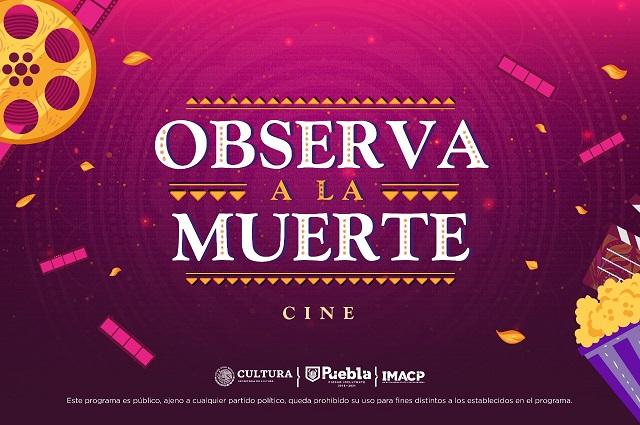 Darán cine en el Panteón Municipal de Puebla por Día de muertos