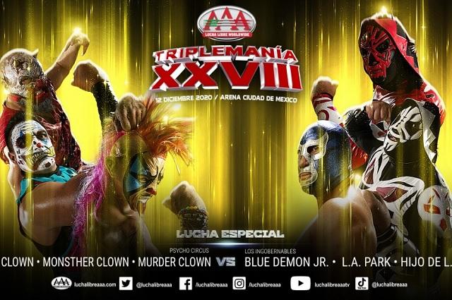 AAA revela cartel completo de Triplemanía XXVIII; no habrá público