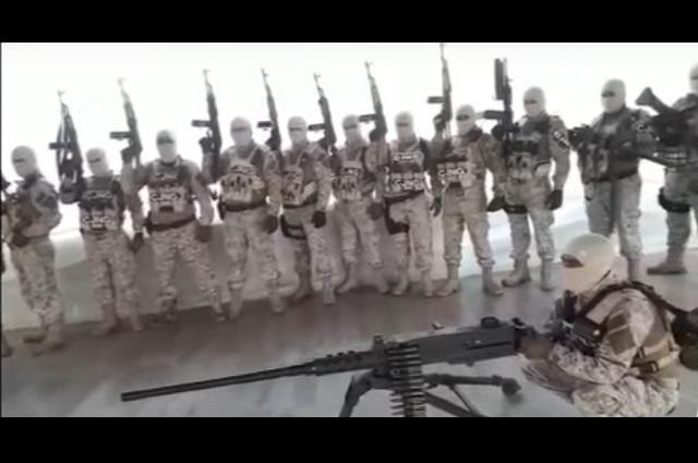 En video, sujetos armados advierten que van contra Cártel de El Abuelo