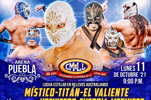 Cartelera Arena Puebla: lunes 11 de octubre 2021
