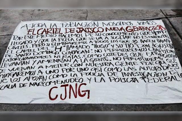 Legisladores exigen investigar la presencia de cárteles en la CDMX