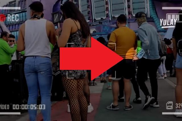 Video: Así operan carteristas durante EDC México 2020