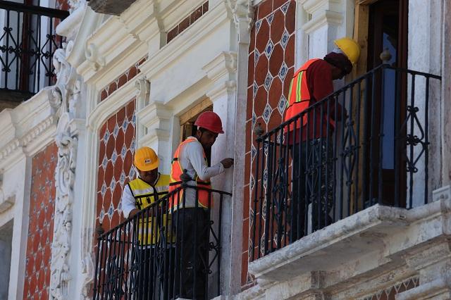 Sismo no dejó daños; revisan templos y edificios en Puebla