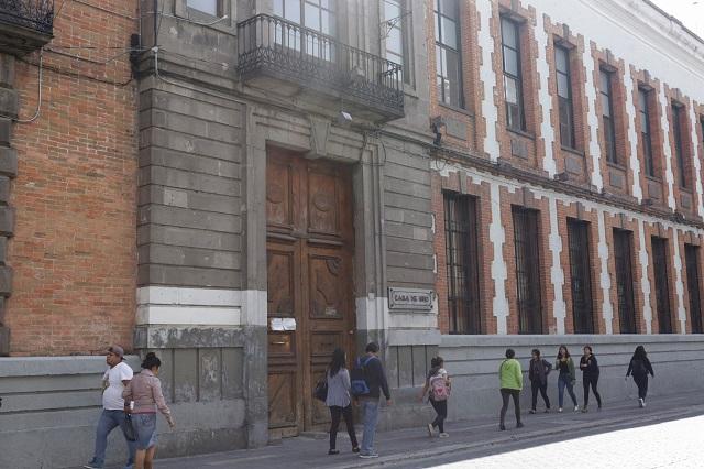Frenan en el Congreso la venta del Antiguo Hospicio de Puebla