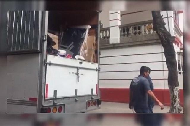 Equipo de AMLO comienza mudanza de la casa de transición a Palacio Nacional
