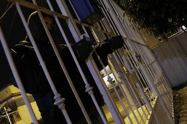 Siguen asaltos en pandilla contra casas habitación