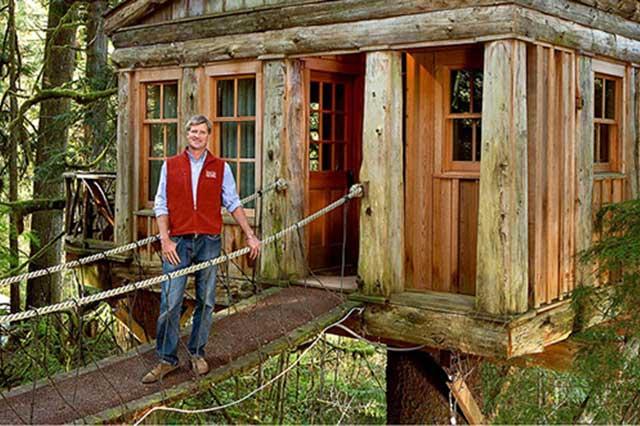 Conoce a pete nelson el maestro de las casas en rbol e 2019 - Casas en los arboles girona ...