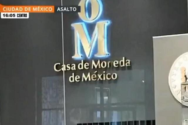 Asalto no fue a Casa de Moneda, sino a una tienda, precisa el gobierno