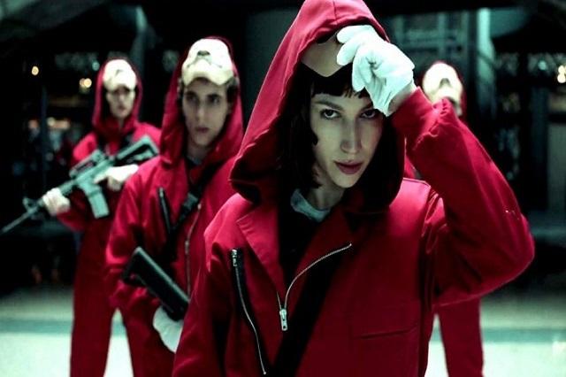 """Cae banda que planeaba crimen usando máscaras de """"La Casa de Papel"""""""