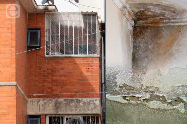 Son rentadas un tercio de casas en Puebla y están defectuosas