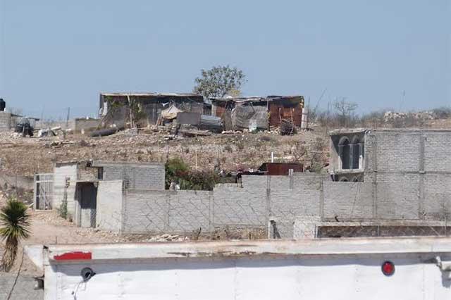 Invade vivienda irregular Reserva de la Biósfera en Tehuacán