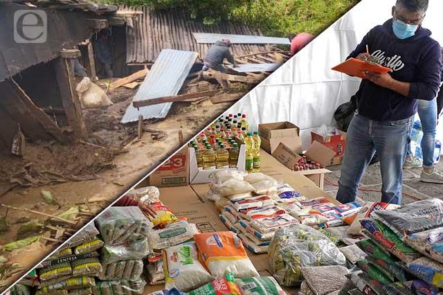 Gobierno olvida a damnificados de comunidades marginadas
