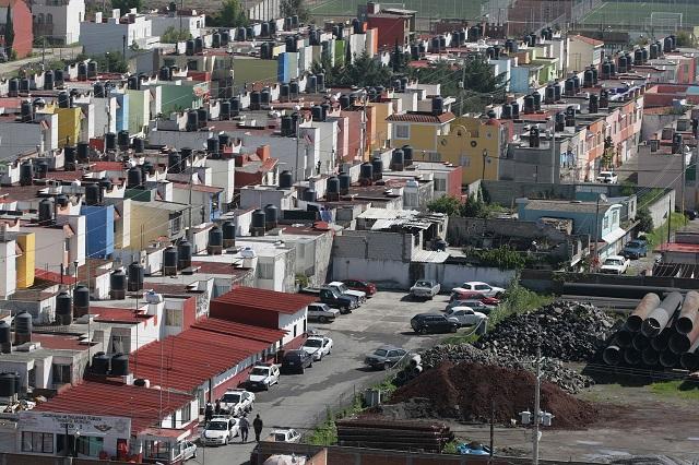 Se cae la construcción de casas con crédito oficial en Puebla