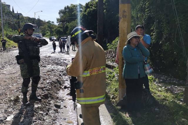 Casa colapsada en Chautla se construyó en zona de riesgo