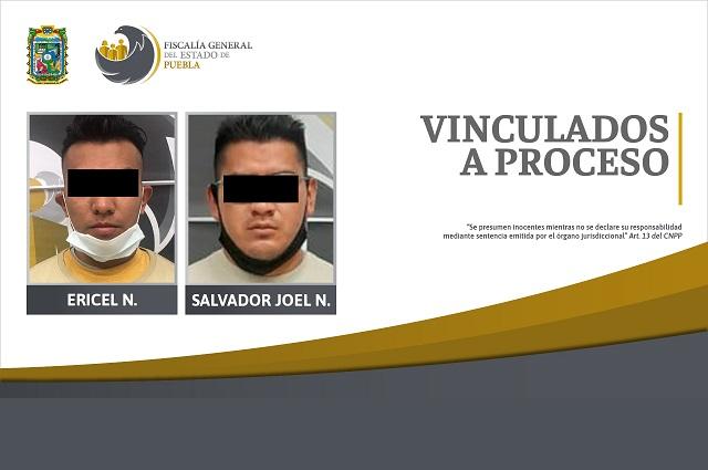 Quedan vinculados a proceso por robar casa en Puebla