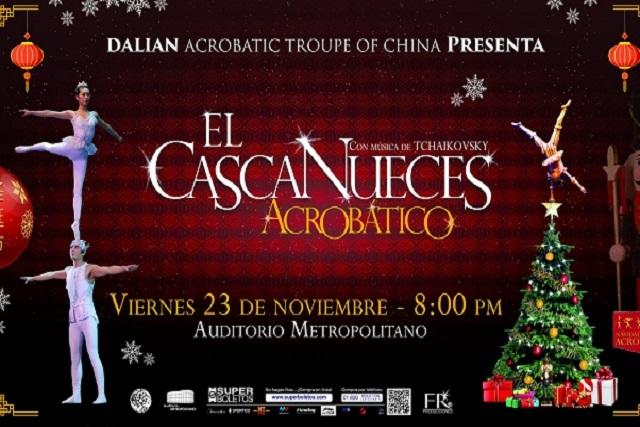 Vuelve a Puebla El Casacanueces Acrobático