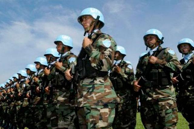 Militares mexicanos no participarán en labores de paz de la ONU