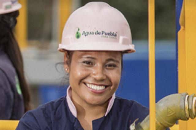 Cascos rosas, proyecto vanguardista a nivel nacional, de Agua de Puebla