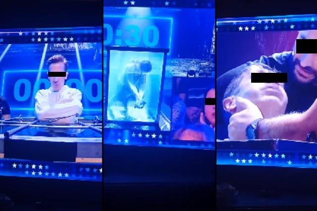 Video: ilusionista estuvo a punto de morir ahogado durante show en vivo