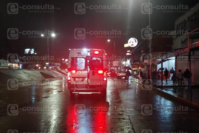 Casi linchan a asaltantes de transporte público en la Chapultepec