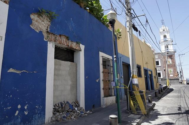 Pide Manzanilla informe sobre reconstrucción por sismo 2017
