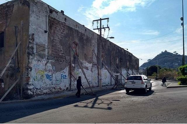 PC de Atlixco pide a INAH permiso para reconstruir casas en riesgo