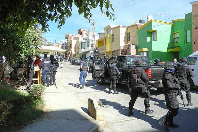 PGR y PF catean domicilio en Fovissste La María