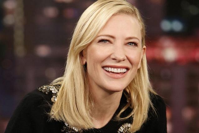 Cate Blanchett se lanza contra Donald Trump en programa de Jimmy Fallon