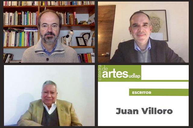 Con charla de Juan Villoro concluye Cátedra de Artes UDLAP