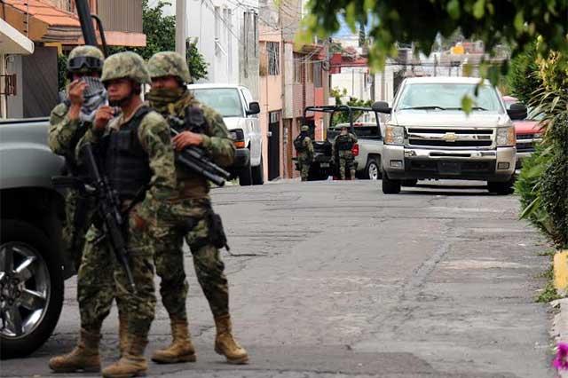 Catean Marina y PGR casas en Puebla por nexo con El Chapo