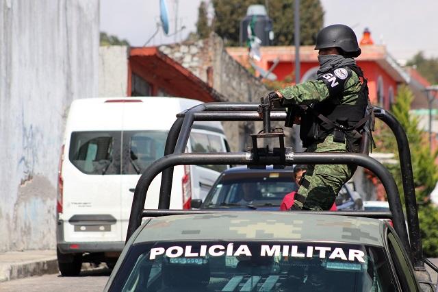 Cateos a narcotienditas de Puebla dejan 21 detenidos