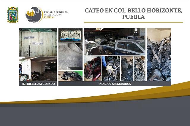 Hallan mil autopartes robadas en cateo en Bello Horizonte