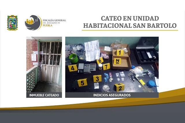 Vivienda en San Bartolo comercializaba drogas