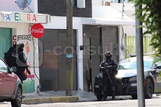 Policía Federal catea vivienda en el Infonavit Amalucan