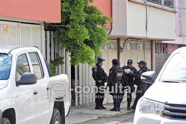 Policía Federal y SEIDO catean domicilio en colonia El Carmen