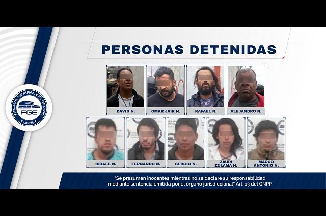 Fiscalía de Puebla realizó 18 cateos en Puebla y Huejotzingo