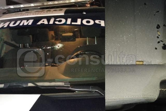 Balean a policías en límites de Puebla y Amozoc