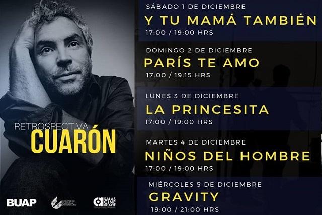 Previo al estreno de Roma, CCU proyectará otras cintas de Cuarón