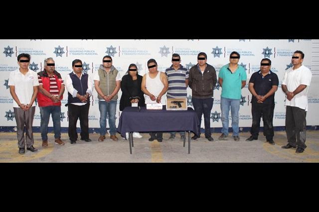 Ante el juez llevan a doce por golpear policías en Loma Linda