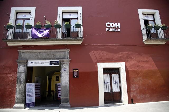CDH emite recomendaciones a los alcaldes de Acajete y Tecali