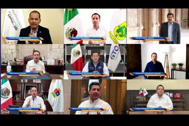 Exigen gobernadores del PAN presupuesto para Covid-19