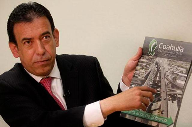 Celebra el PRD que Moreira haya sido detenido por lavado de dinero
